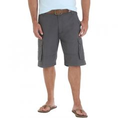 Find the Wrangler Men's Genuine Clearwater Cargo Shorts - Knight by Wrangler at Mills Fleet Farm.  Mills has low prices and great selection on all Shorts.