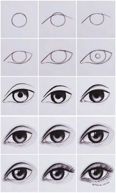 Step by step eye tutorial eyetutorial tutorial eye drawing otherpwHow to draw an eye~ This was done with alcohol markers, but could really be done with any material.Eye Tutorial by Drawing Tutorial for Occasional ArtistsPaigeeWorld is a community for Easy Drawing Tutorial, Eye Drawing Tutorials, Easy Drawing Steps, Eye Tutorial, Drawing Tips, Art Tutorials, Drawing Sketches, Drawing Ideas, Drawing Drawing