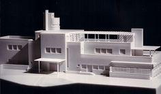 Villa Cavrois Model, Robert Mallet-Stevens, 1932. | Rétrospective sur l'Art déco au Palais de Chaillot.