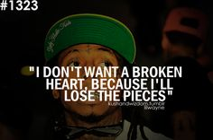 """""""You can keep knocking but wont' knock me down. No love lost. No love found"""" - Lil Wayne"""