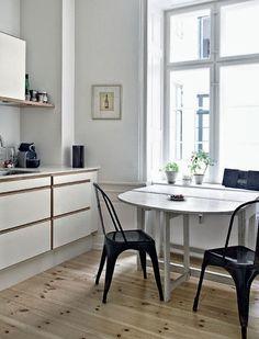 Cocina Ikea. Mesa y sillas azues | Cocina | Pinterest | Cocina ikea ...