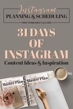 How to schedule Instagram posts The 31 days of Instagram content planner is a free printable planner for social media posts. Download the Instagram planner free template to enhance your Instagram feed with things that matter to your brand and most importantly your followers! Don't stay stuck with the same old content everyone else is using make it your own! | Instagram captions | Instagram picture ideas | Instagram tips #instagram  #planner #socialmediamarketing #contentmarketing