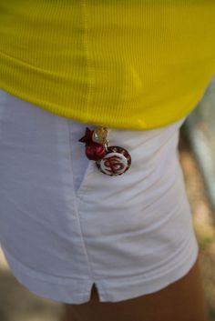 Bling FSU Seminoles Key Chain