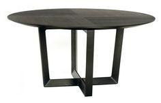 Tavolo rotondo moderno in legno BOLERO by Roberto Lazzeroni POLTRONA FRAU