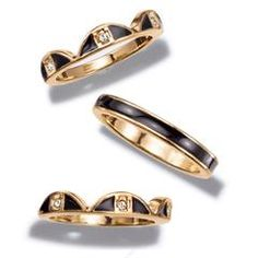 Deco Fab 3-Piece Ring Set - see more click here: http://www.youravon.com/srudek