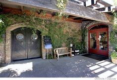 Ravenswood Winery tasteroom in Sonoma.   Delicious Zinfandels with the most generous pours/tastings.