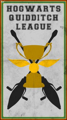 Quidditch Poster: Hogwarts League by TheLadyAvatar on deviantART