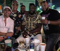 David Ortiz is shown in the center of this image with friends including Jhoel Lopez (far left), hours before he was shot. He is in the hospital and is in a stable condition after having his gallbladder and parts of his intestines removed Daddy Yankee, David Ortiz, Farm Hero Saga, Entourage, Affair, Drugs, How To Remove, Lord, Instagram