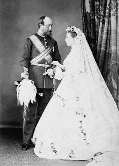 Helena (Queen Victoria's daughter) married Prince Christian of Schleswig-Holstein, July 1866.