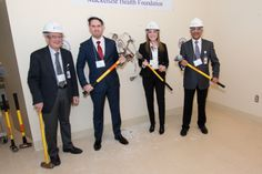 "Picture This campaign: Donors invited to kick-off renovations of new MRI suite with ""Smashing the Wall"" event. January 16 2014"