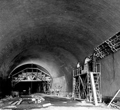 Building of Letna Tunnel Old Paintings, My Heritage, More Pictures, Czech Republic, Vintage Images, Fair Grounds, In This Moment, Black And White, Retro
