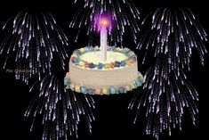 Animated Gif by Don Irvine Birthday Tags, Birthday Candles, Blog, Blogging