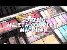 ♡ SORTEIO | Maleta / KIT de Maquiagem Macrilan ♡