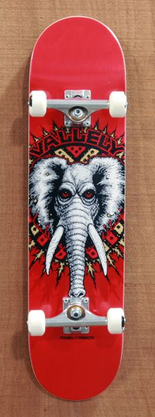 "Its been a long time but...Powell New School Vallely Elephant 8.0"" Skateboard Complete"