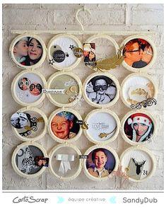 Inspiration Noël - Décorez votre intérieur pour les fêtes par Sandy sur le blog Cartoscrap