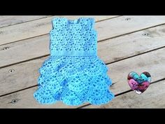 Robe Merveille crochet toutes tailles 1/2 / Magnificent ruffle dress all sizes (english subtitles) - YouTube