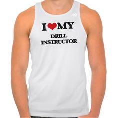 I love my Drill Instructor New Balance Running Tank Top Tank Tops