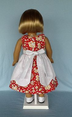 18 inch doll clothes. Daisy and eyelet petal doll von ASewSewShop