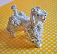 Ceramic | Styles | spaghetti porcelain (spaghetti porcelain poodle)