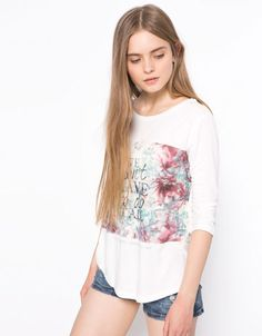 Bershka Switzerland - BSK print