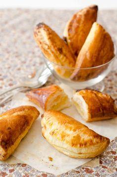 Les petits feuilletés à la crème d'amande vanillée | Les Cocottes Moelleuses