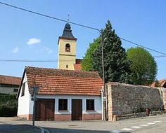 Le clocher de l'église, Rott