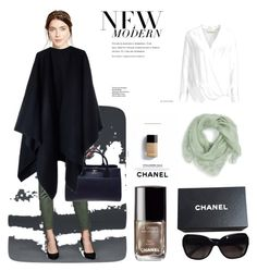 chanelli by hilorine on Polyvore featuring polyvore fashion style By Malene Birger Acne Studios Gap Chanel Jennifer Behr Alexander McQueen clothing