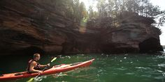 7 Natural Wonders of Wisconsin | Apostle Islands National Lakeshore, Big Manitou Falls, Cave of the Mounds, Devils Lake State Park, Chain O'Lakes, High Cliff State Park and the Niagara Escarpment, Horicon Marsh