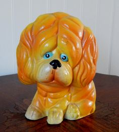 Vintage Dog Bank, Made in Taiwan, (1972) by ZacInTheBoxVintage on Etsy