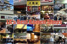 A Handy Guide to LA's Best Ramen Shops, Winter 2014