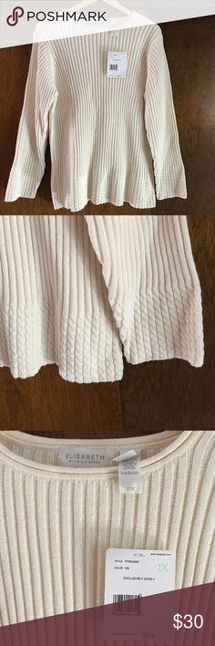 Elisabeth NWT sweater Liz Claiborne sweater. NWT Liz Claiborne Sweaters