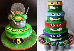 Imagens: http://cakesdecor.com/ e https://it.pinterest.com