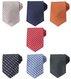 Mens Tie Fashion Necktie 3.5 inches Necktie Tie Mixed Set 7 Pack (Set-4-1) at Amazon Men's Clothing store:
