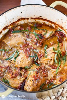 Paleo Creamy Sun-dried Tomato Chicken Recipe