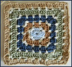 Crochet Patterns for the beginner or the advanced: #15 Granny Square