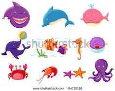 Stock Images similar to ID 116355658 - baby sea creatures