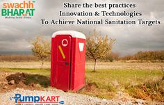 Its our duty and need to share the best practices, innovation & technologies to achieve the targets of #National #Sanitation and keeping #India #clean and #healthy. Join and support #Swachh #Bharat #Abhiyan