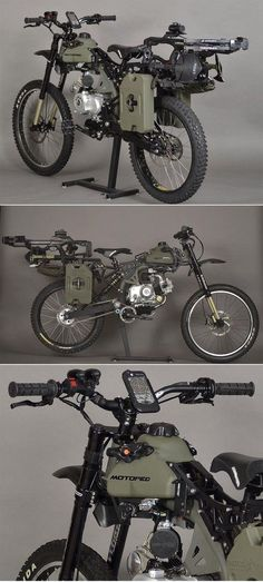 Motopeds Survival Bike : Black Opps Edition