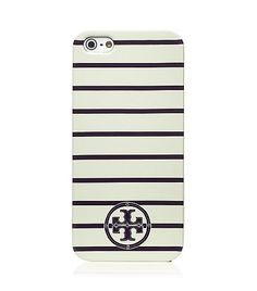 striped iphone 5 case / tory burch