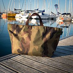 Sailing with my Herve Bags - Belle Ile Morbihan France