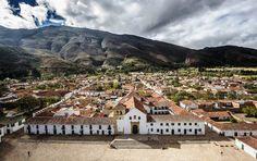 Colombia - Vista de Villa de Leyva, Boyacá.