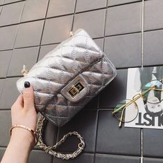 Occident and the United States PUfashion bag Jewelry Supplies, Jewelry Stores, Affordable Jewelry, Wholesale Jewelry, Fashion Bags, Chanel, Shoulder Bag, Silver, United States