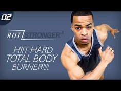 45 Min. HIIT: Body Fat Torch-a-thon Workout | HIIT/STRONGER 03: Day 02 - YouTube