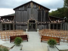 The Barn at Chestnut Springs...use this as dance floor?