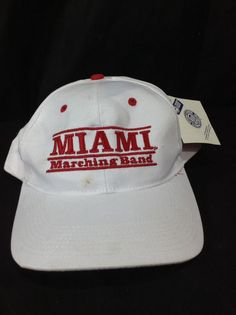 Vtg Miami Marching Band Snapback Hat The Game New NWT    Clothing, Shoes & Accessories, Men's Accessories, Hats   eBay!
