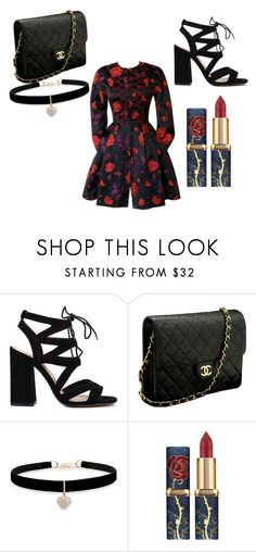 """""""feelin'  mini part 2"""" by adams-essie ❤ liked on Polyvore featuring Chanel, Betsey Johnson and Christian Lacroix"""