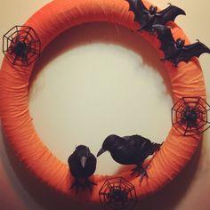 Pinterest halloween | My pinterest inspired Halloween wreath! | Pinned It, Done It