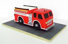 fire truck ... by cake nouveau