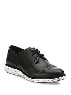 Cole Haan Lunar Grand Leather Wingtips