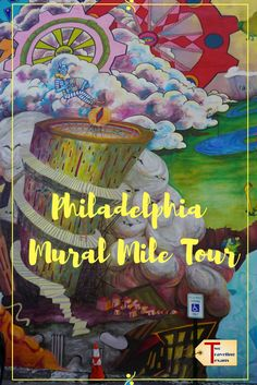 Learn about the inspiring artwork in Philadelphia on the Mural Mile Walking Tour!   #streetart #muralmile #philly #artlovers #muralartsprogram #antigraffiti #video